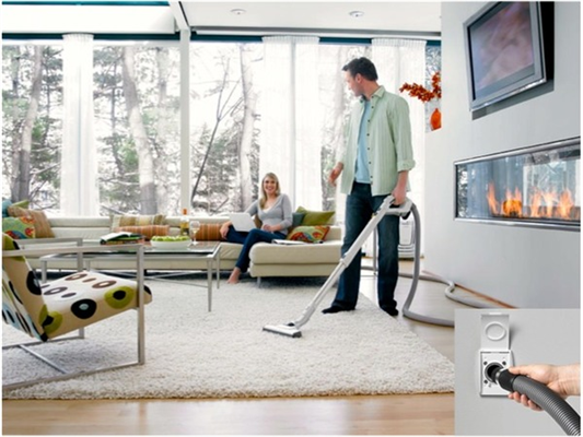 Central Vacuum Systems Make Cleaning A Lot Easier!