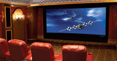 Stewart CineCurve Home Theater
